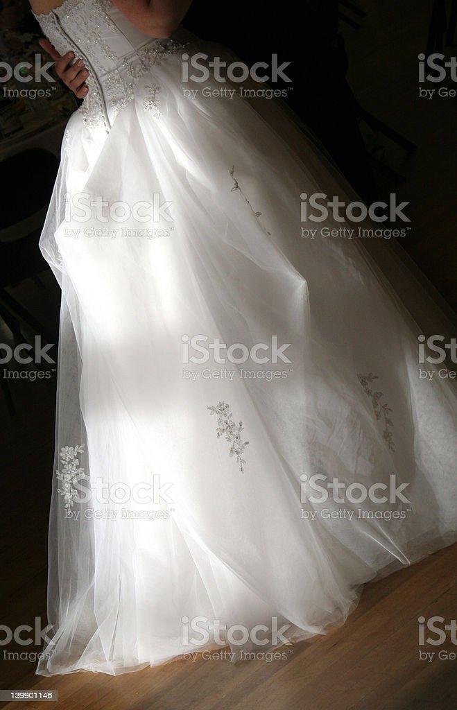 Bride Dance royalty-free stock photo