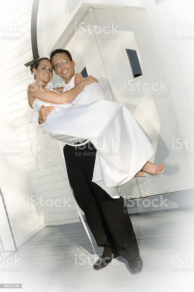 Panna młoda & pana młodego - Zbiór zdjęć royalty-free (Ceremonia ślubu)