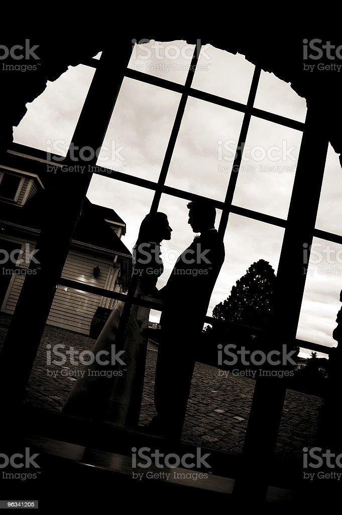 Mariée & marié - Photo de Amour libre de droits