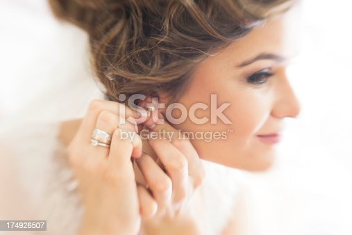 istock Bride is Getting Ready For Ceremony 174926507