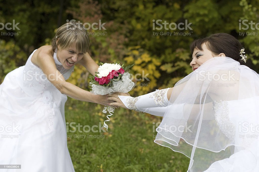 Bride. royalty-free stock photo