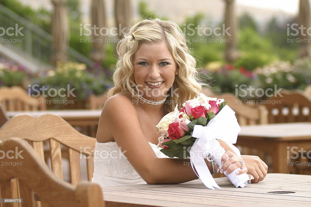 Bride Series royalty-free stock photo