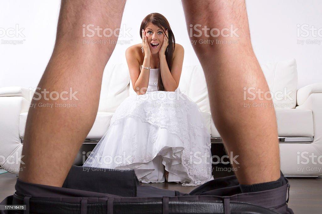 Nackte Braut Bilder