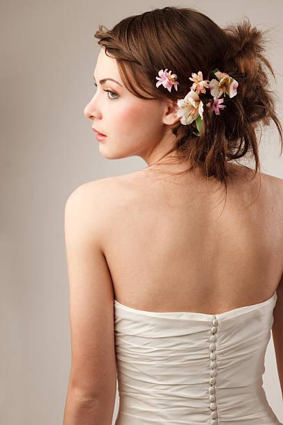 Braut shooted von hinten – Foto