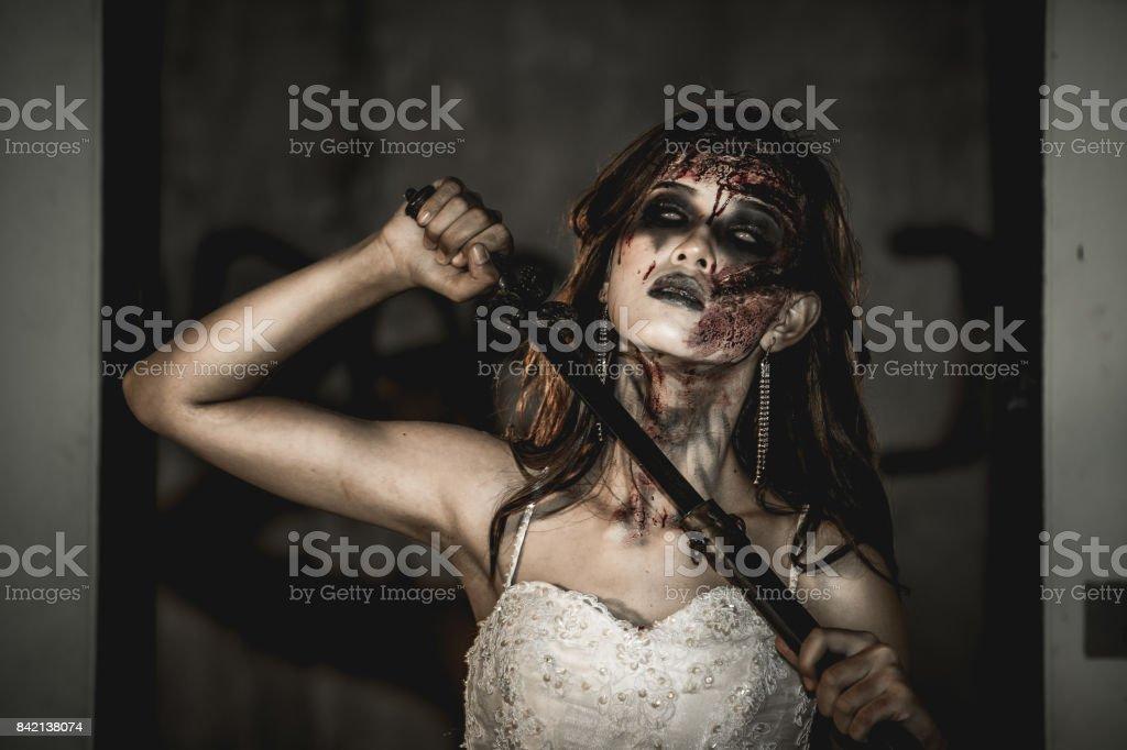 Novia Zombie. - foto de stock