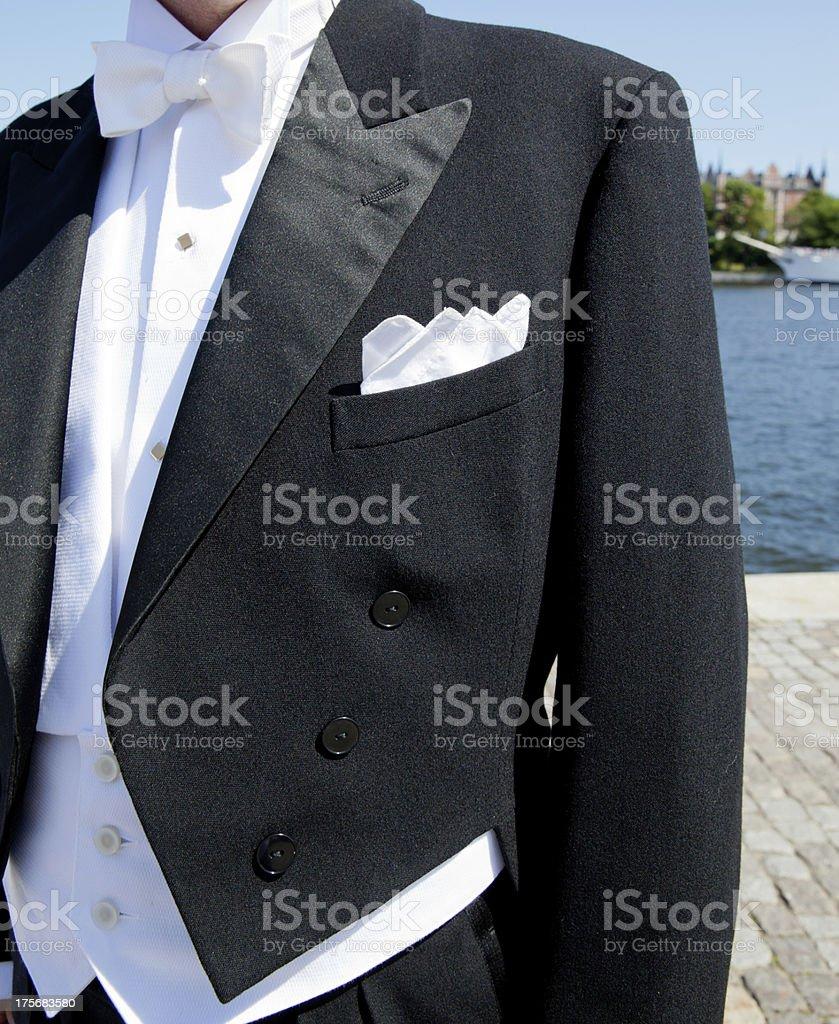 Bridegroom stock photo