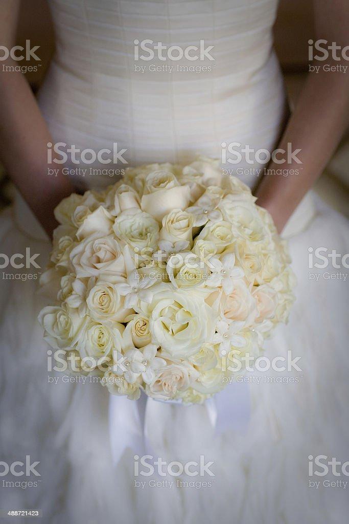 Bride's Bouquet stock photo