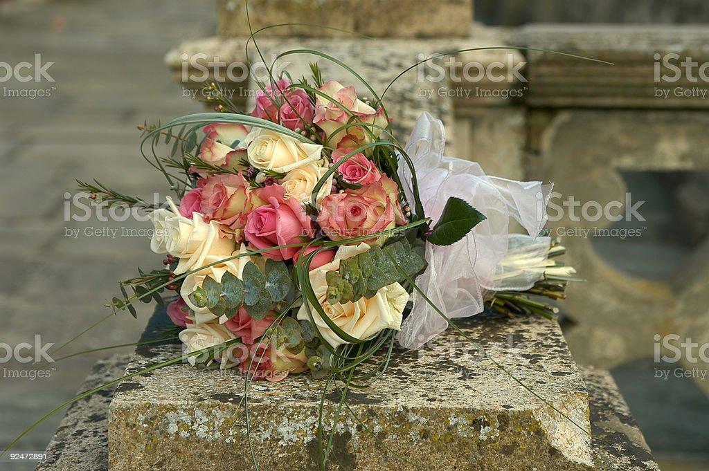 brides bouquet royalty-free stock photo
