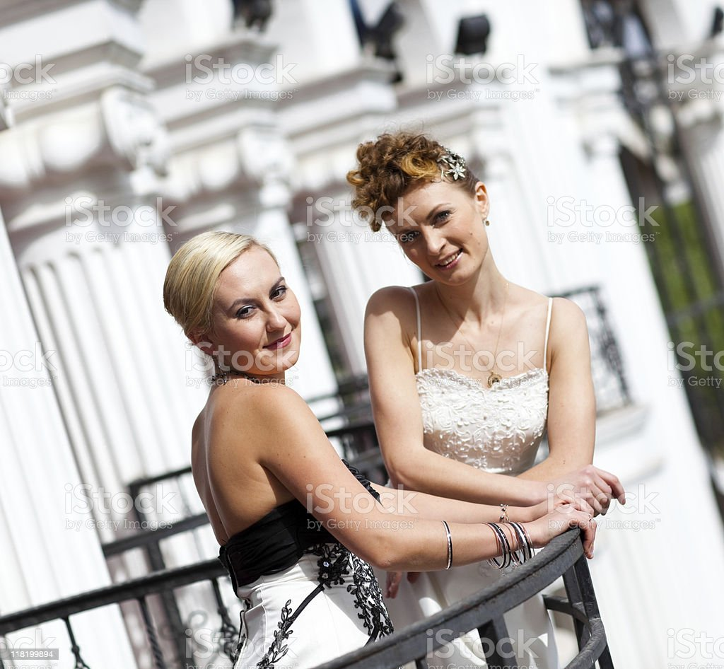 Brides royalty-free stock photo