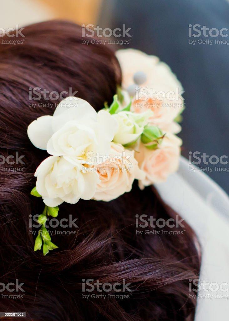 brides wreath royalty-free stock photo