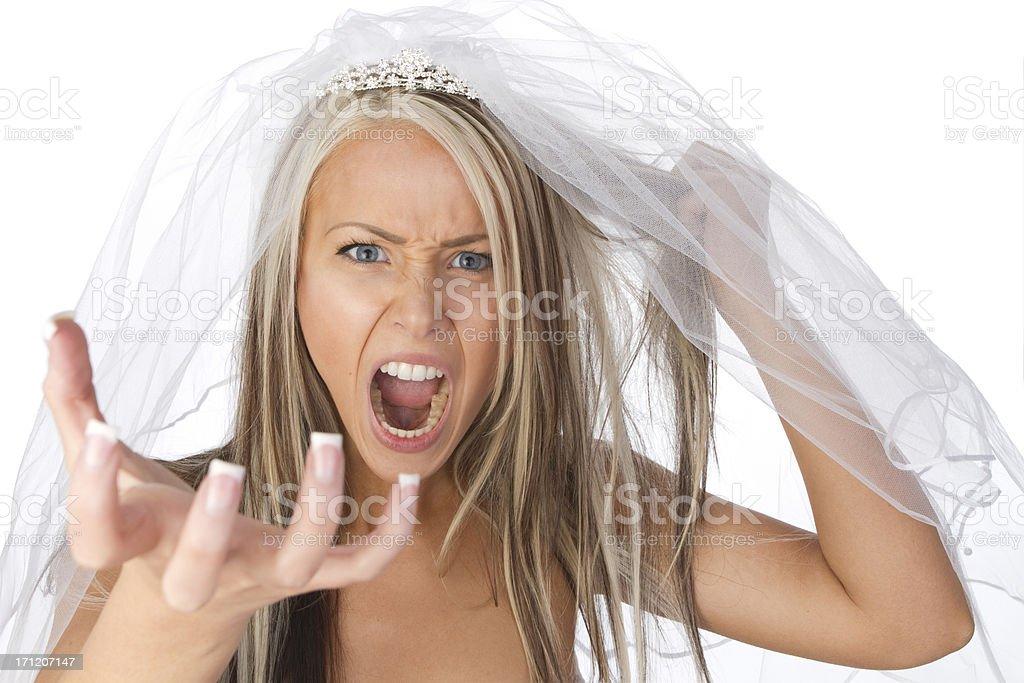 bridezilla stock photo