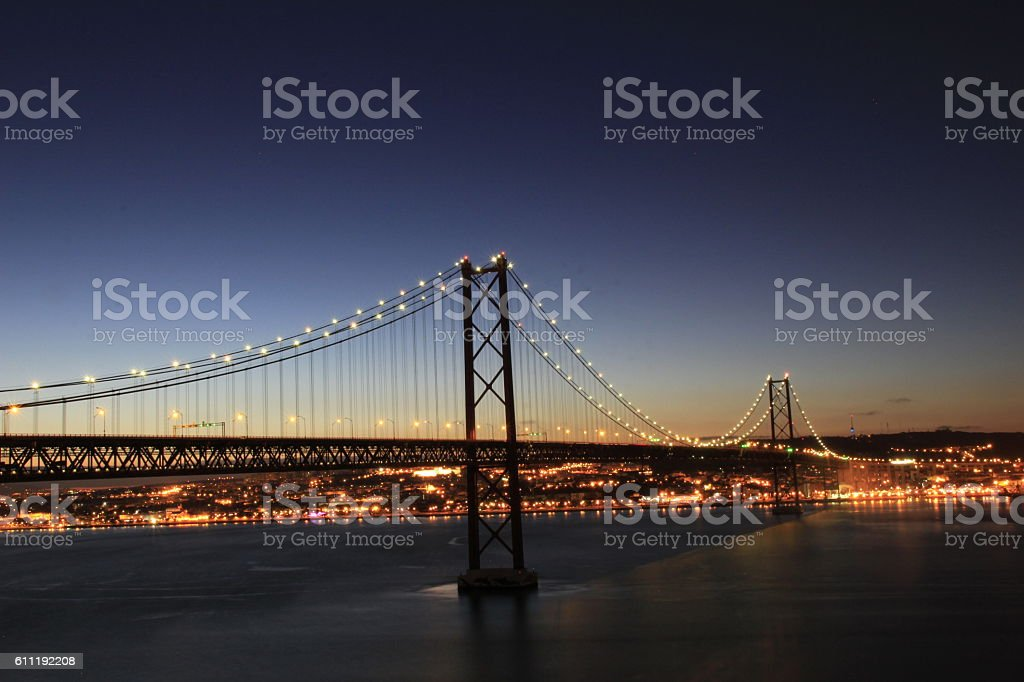 Puente 25 abril, Lisboa stock photo