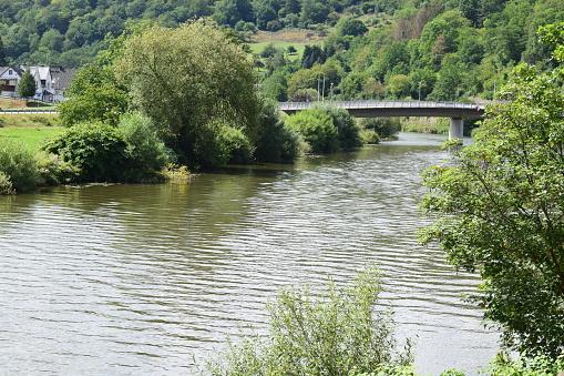 bridge across Lahn in Dausenau