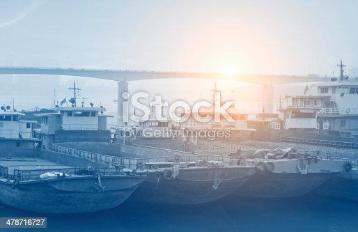 istock bridge and boat 478716727