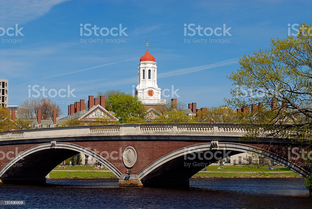 Bridge and Dome (Spring series) royalty-free stock photo