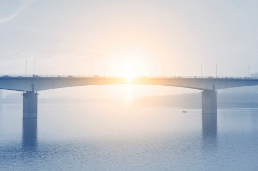 bridge and sunshine