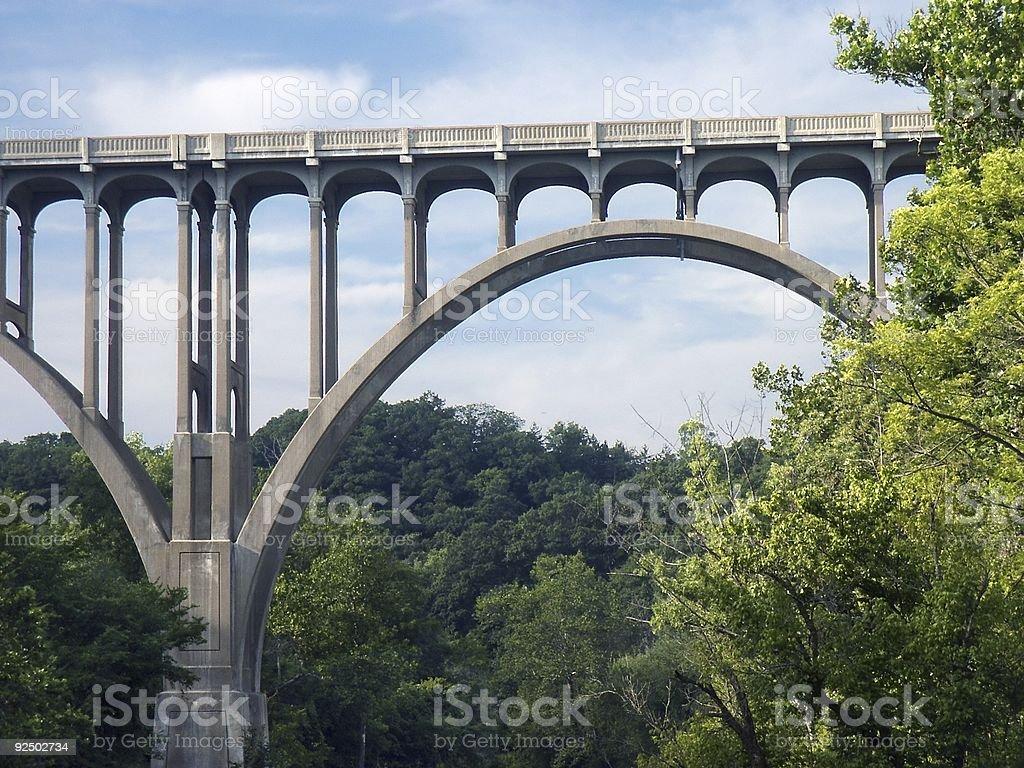 Bridge arch royalty-free stock photo