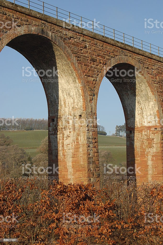 Bridge arches. royalty-free stock photo