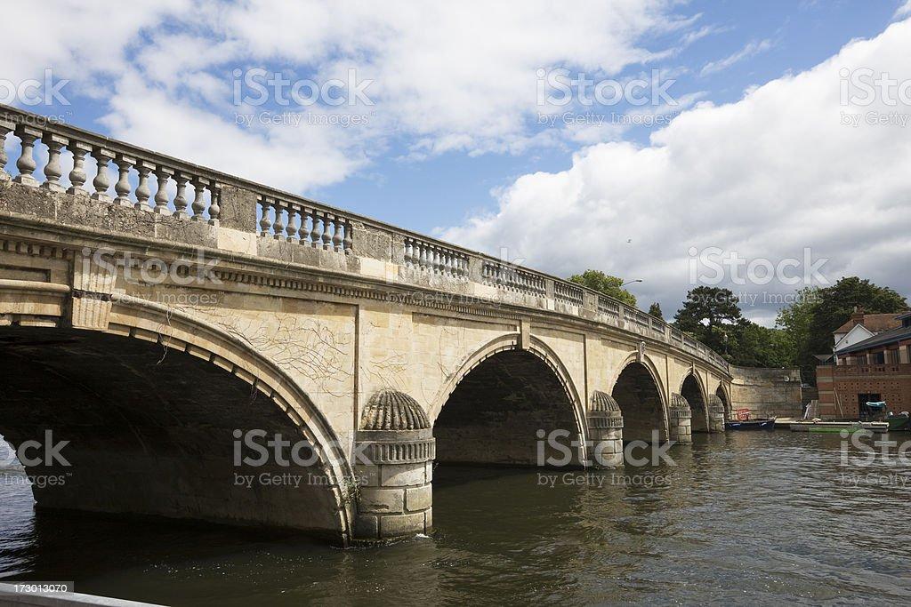 Bridge at Henley on Thames stock photo
