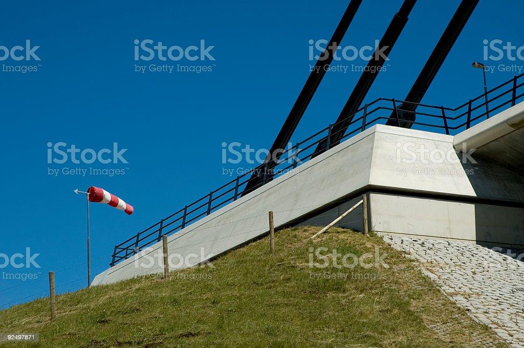 Bridge Beginning or Ending royalty-free stock photo