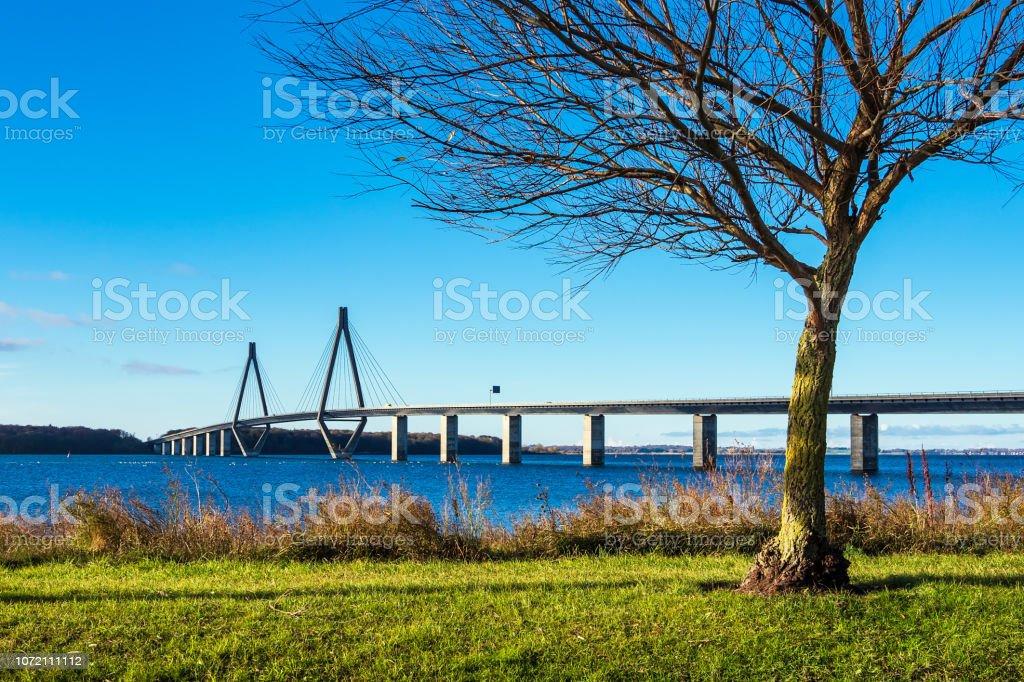 Eine Brücke zwischen Seeland Und Falster in Dänemark – Foto