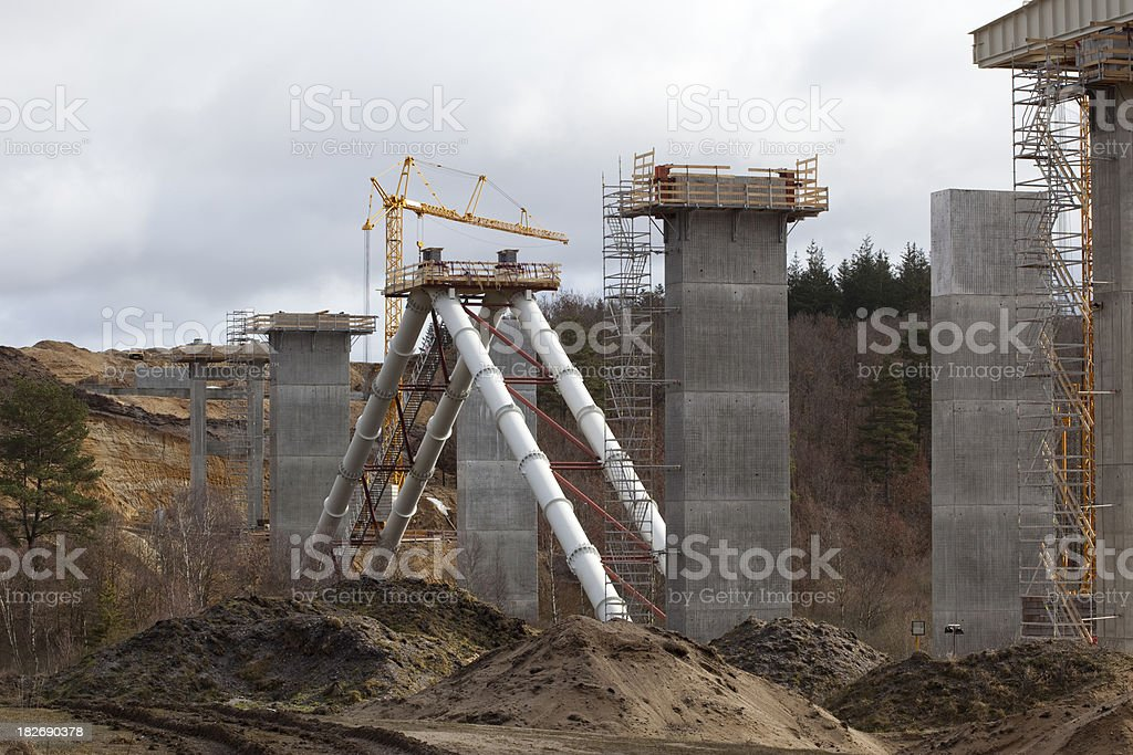 Bridge Building - Funder, Denmark royalty-free stock photo
