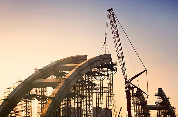 bridge building - bridge bildbanksfoton och bilder