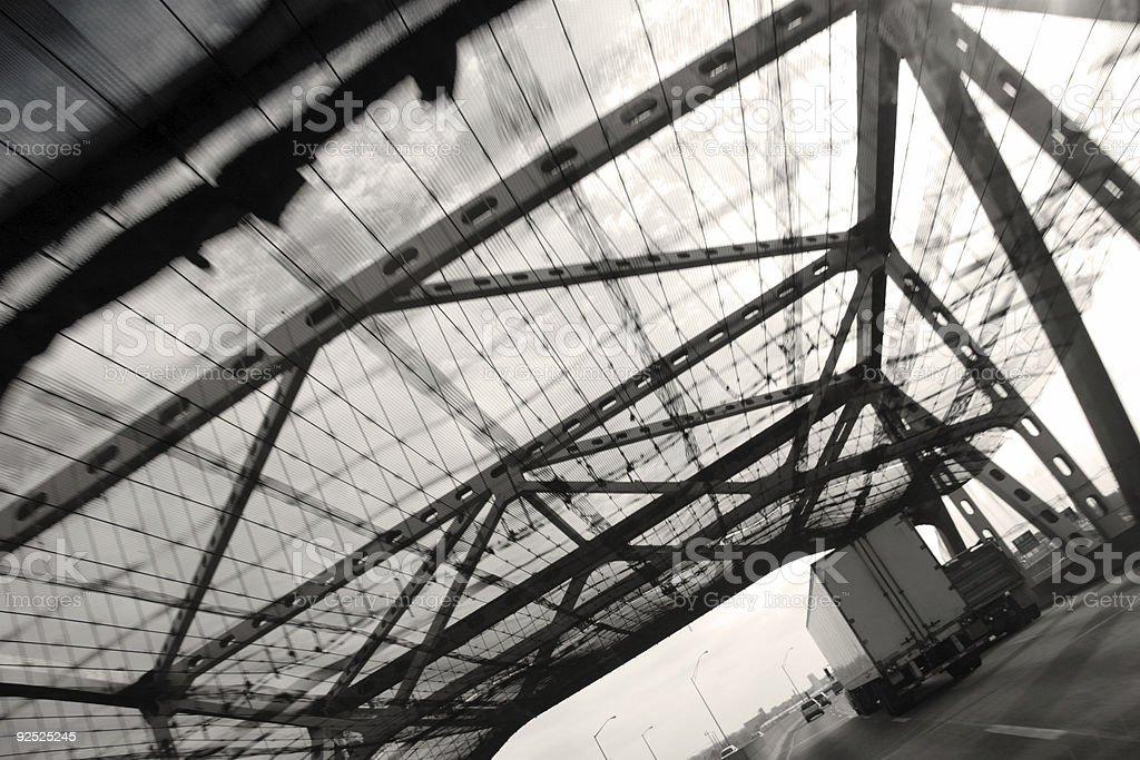 bridge canopy stock photo