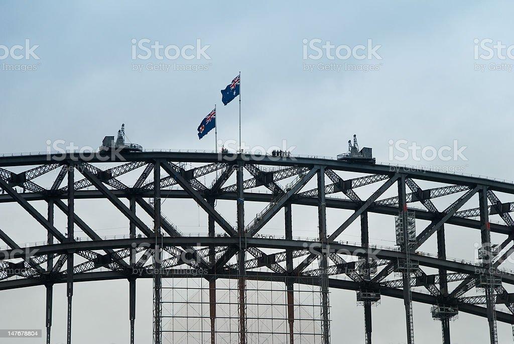Bridge Climb royalty-free stock photo