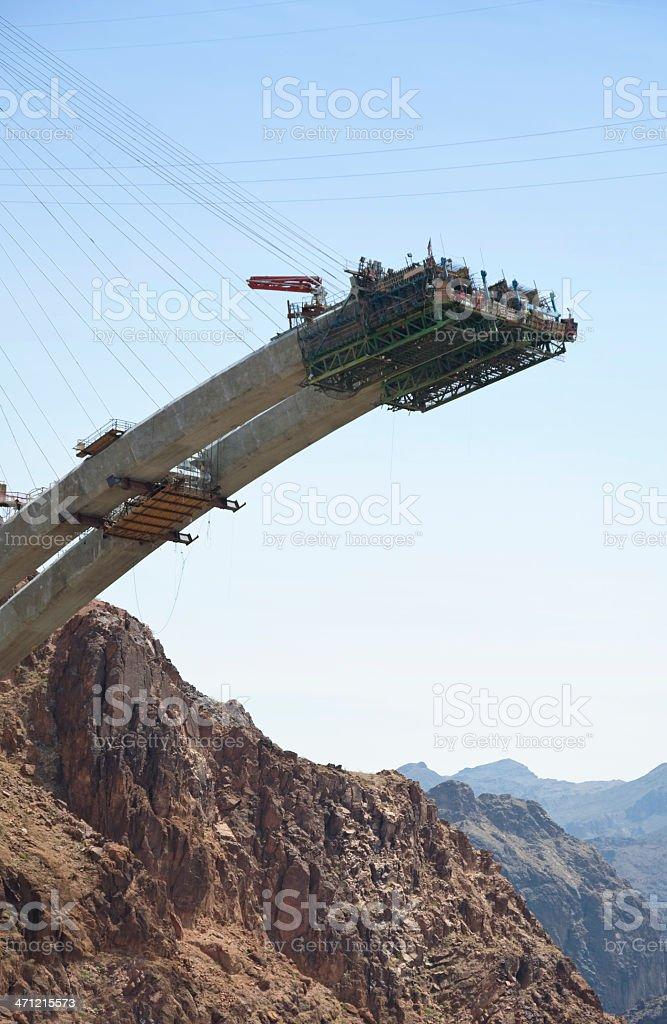 bridge construction royalty-free stock photo