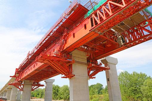 pillars of the bridge