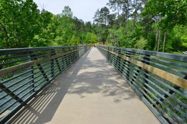 Brücke über die Augusta-Kanal in Augusta in Georgia. – Foto