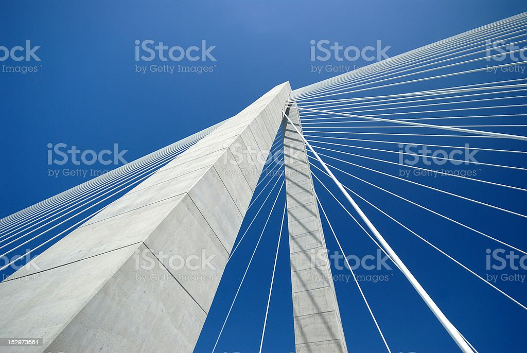Bridge Detail stock photo