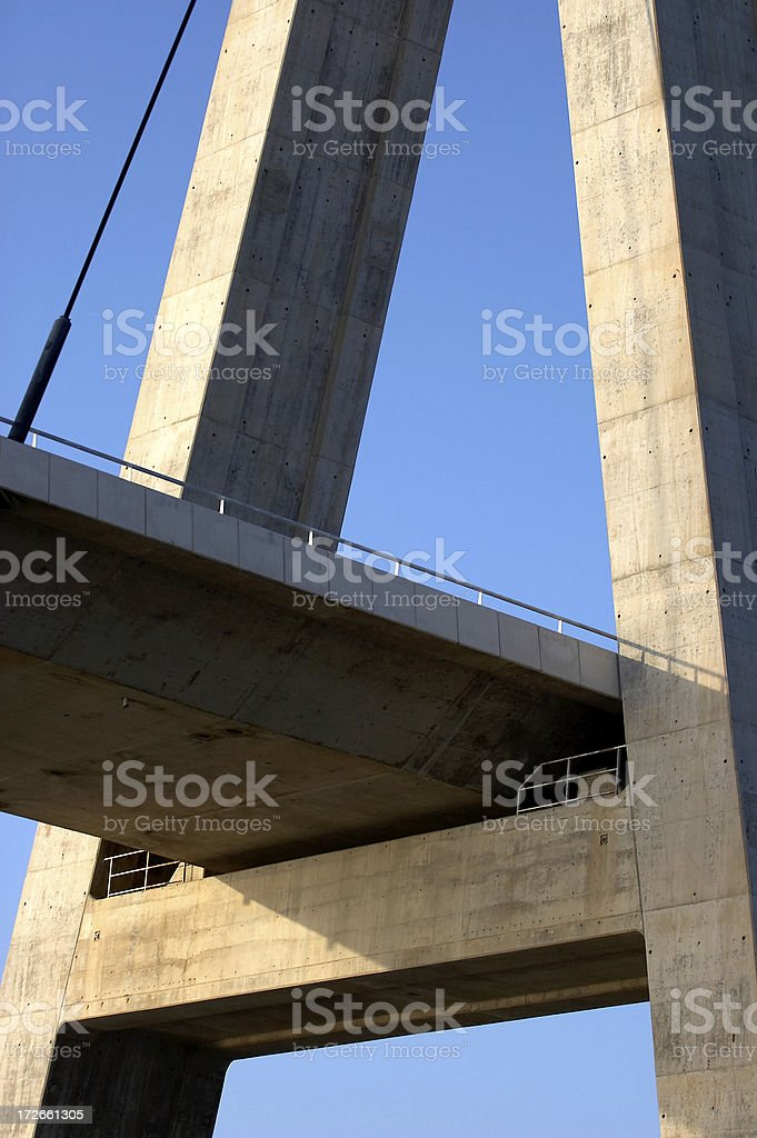 Bridge Detail royalty-free stock photo