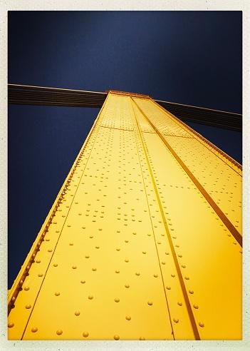 Bridge close up.   iPhone