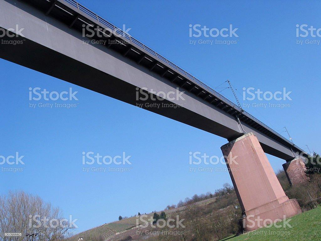 Bridge down under royalty-free stock photo