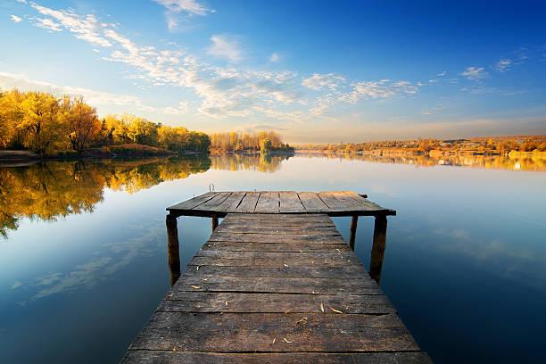 bridge for fishing - flod vatten brygga bildbanksfoton och bilder