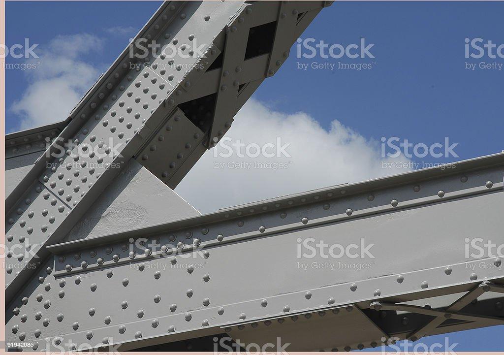 Bridge Frame royalty-free stock photo
