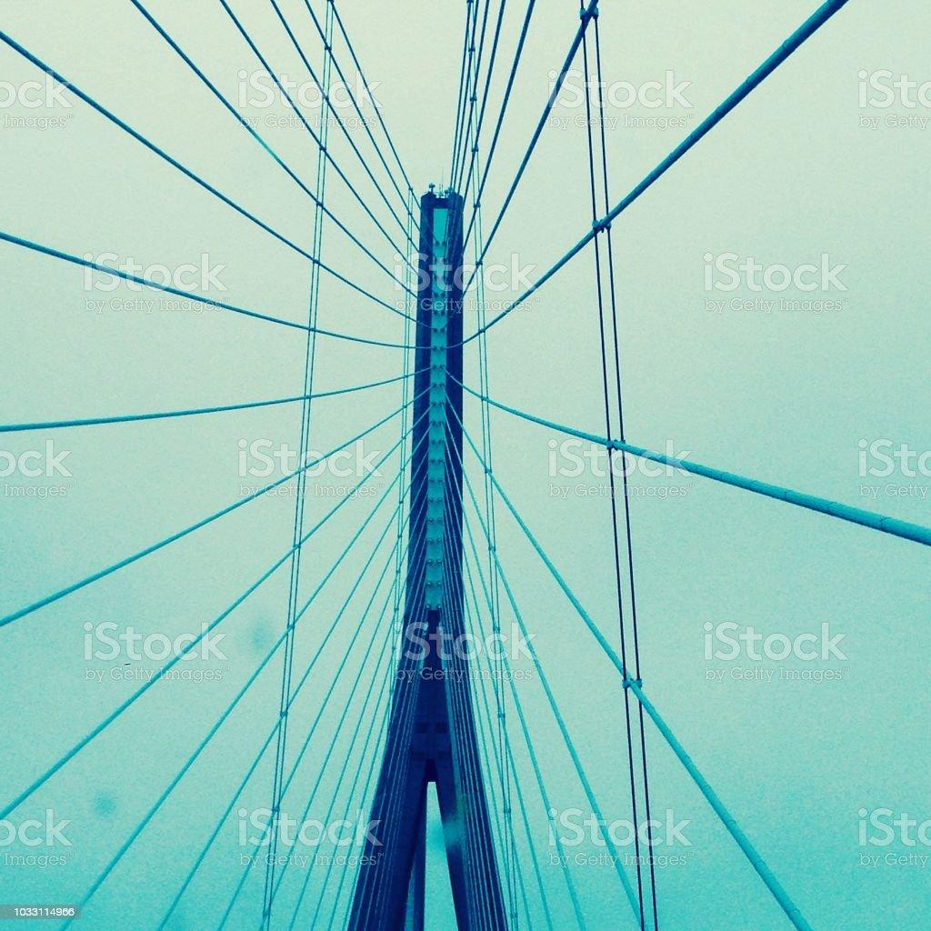 Bridge France stock photo