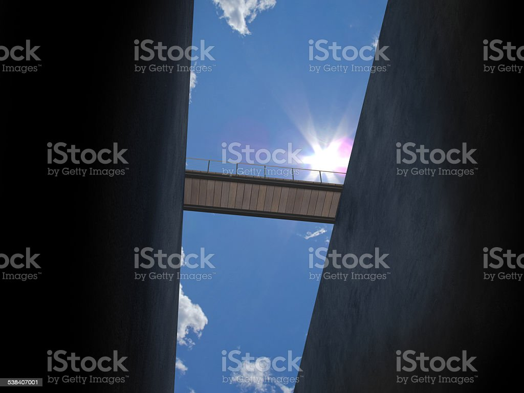 bridge from below - Royalty-free 2015 Stock Photo