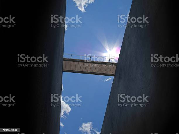 Bridge From Below Stock Photo - Download Image Now