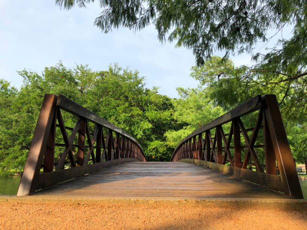 Bridge gateway stock photo