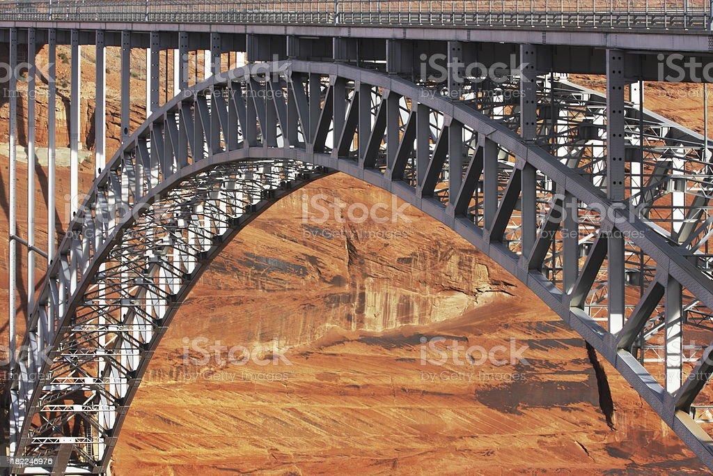 Bridge Girder Canyon Arch stock photo