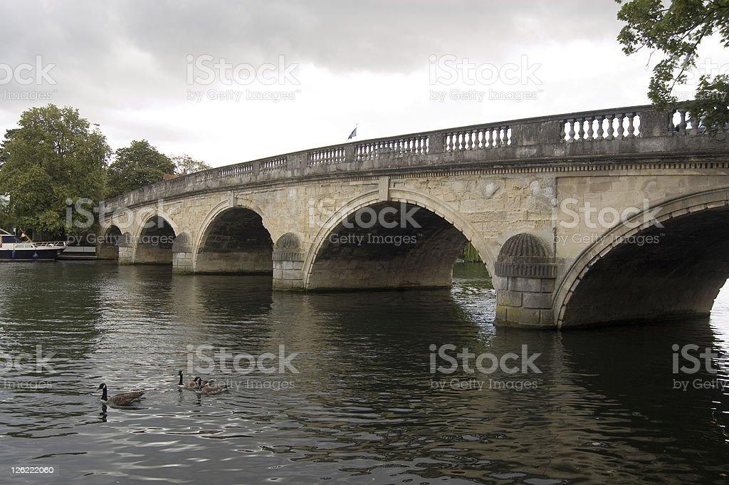 Bridge, Henley-on-Thames stock photo