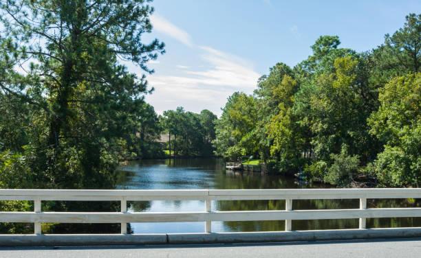 Bridge, Hilton Head Island, South Carolina stock photo