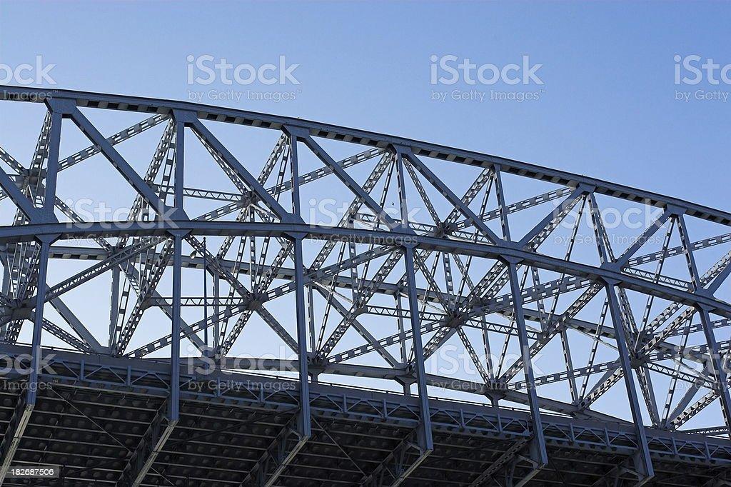 Bridge in Evening Light stock photo