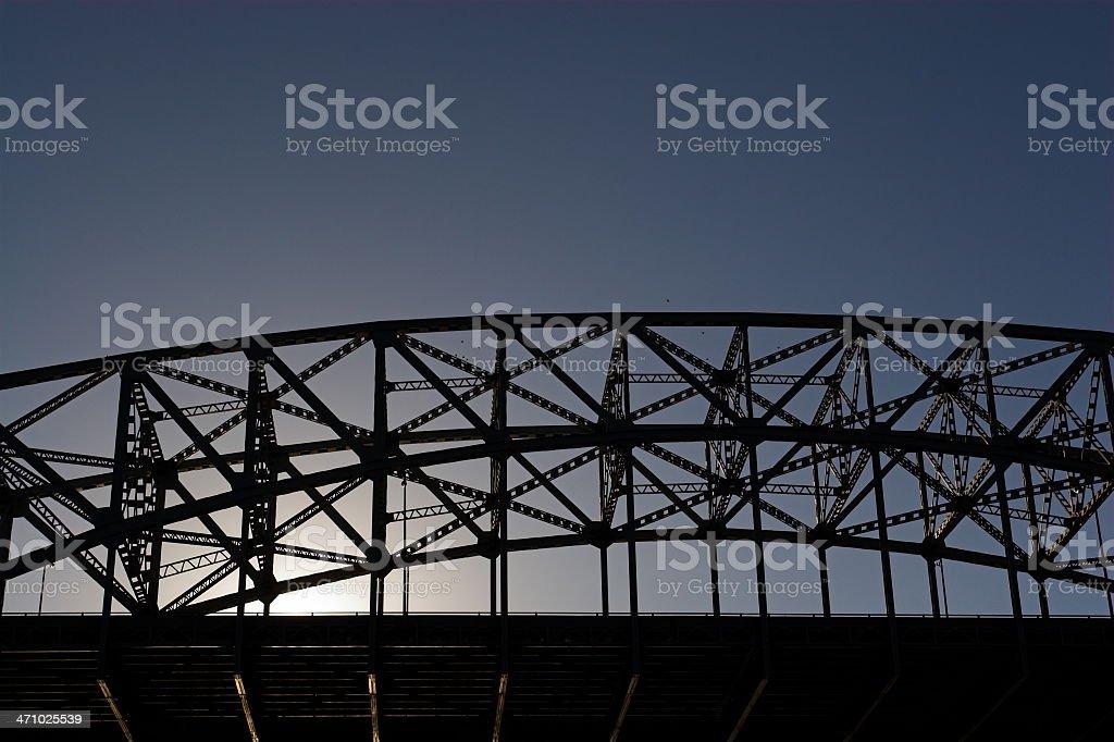 Bridge in Evening Light royalty-free stock photo