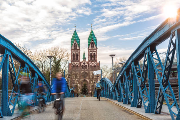 Brücke in Freiburg – Foto