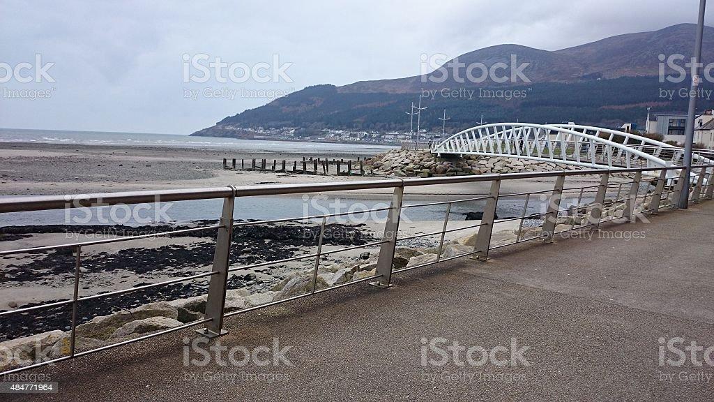 Bridge in Newcastle stock photo