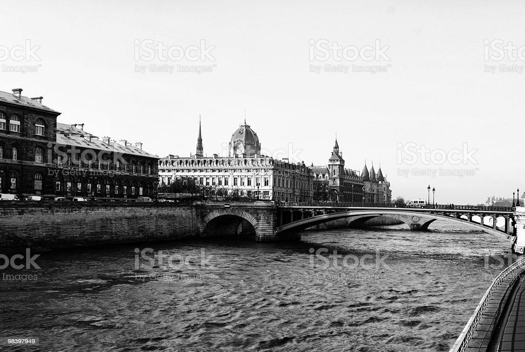 Bridge in Paris royalty-free stock photo
